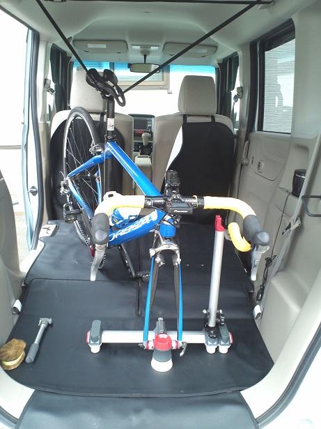 N Boxに自転車を積む方法大人の部活zwiftでgoso Netブログ